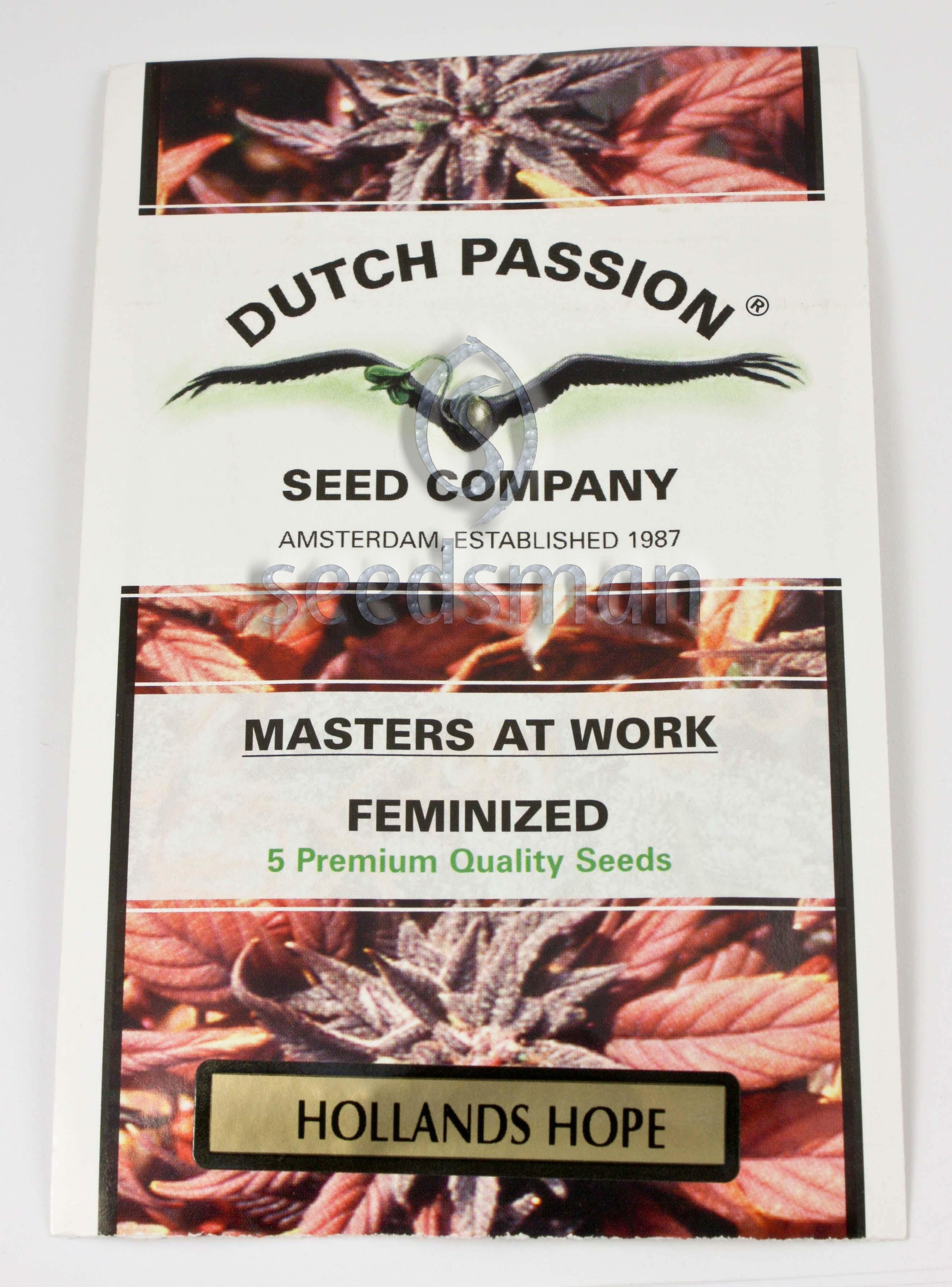 Holland's Hope Feminised Seeds